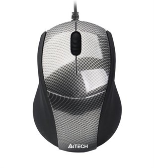 A4 TECH N100-1 KARBON V-TRACK MİNİ USB SİYAH MOUSE
