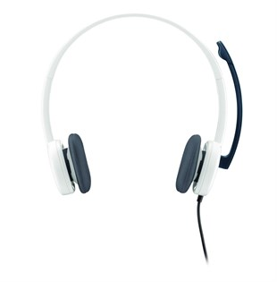 LOGITECH H150 KABLOLU COCONUT- CLOUD WHITE HEADSET 981-000350