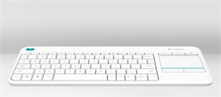 LOGITECH K400 PLUS WHITE KEYBOARD 920-007150